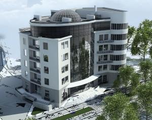 Г. Киев - офисный центр - 5443м2